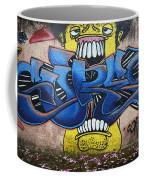 Graffiti Art Curitiba Brazil 7 Coffee Mug by Bob Christopher
