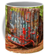 Graffiti On The Wreckage Coffee Mug