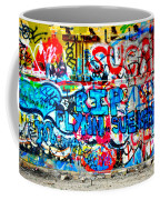 Graffiti Street Coffee Mug by Bill Cannon