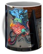 Grafitti And The Panes Coffee Mug