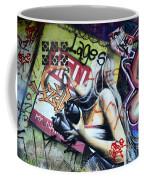 Grafitti Art Florianopolis Brazil 1 Coffee Mug