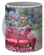Grafitti Couch Coffee Mug
