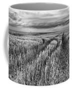 Grain Field Tracks Coffee Mug