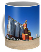 Grain Silos Saskatchewan Coffee Mug