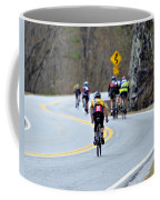 Gran Fondo Bike Ride Coffee Mug by Susan Leggett