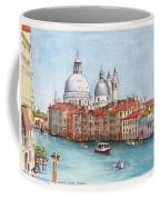 Grand Canal And Santa Maria Della Salute Venice Coffee Mug