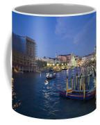 Grand Canal At Nigh Coffee Mug