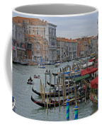 Grand Canal From Rialto Bridge Coffee Mug