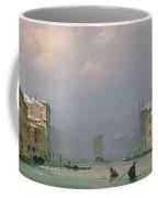 Grand Canal With Snow And Ice Coffee Mug