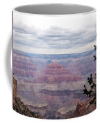 Grand Canyon Awaiting Snowstorm Coffee Mug