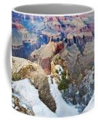 Grand Canyon In February Coffee Mug