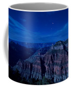 Grand Canyon In Moonlight Coffee Mug