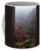 Grand Canyon Of The Pacific Coffee Mug