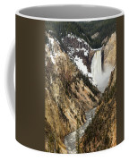 Grand Canyon Of The Yellowstone Coffee Mug by Michael Chatt