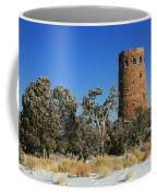 Grand Canyon Watch Tower Coffee Mug