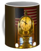 Grand Central Clock Coffee Mug