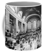 Grand Central Station -pano Bw Coffee Mug