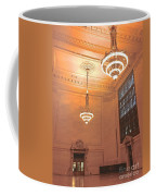 Grand Central Terminal Chandeliers Coffee Mug
