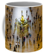 Grand Central Terminal Clock Birds Eye View  Coffee Mug