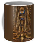 Grand Central Terminal Station Chandeliers Coffee Mug