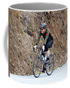 Grand Fondo Rider Coffee Mug by Susan Leggett
