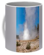 Grand Geyser In Upper Geyser Basin In Yellowstone National Park Coffee Mug