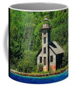 Grand Island East Channel Light Coffee Mug