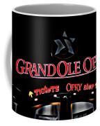 Grand Ole Opry Entrance Coffee Mug