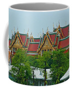 Grand Palace Of Thailand From Waterways Of Bangkok-thailand Coffee Mug