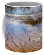 Grand Prismatic Runoff - Yellowstone Coffee Mug