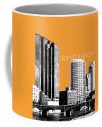 Grand Rapids Skyline - Orange Coffee Mug