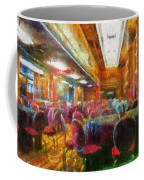 Grand Salon 05 Queen Mary Ocean Liner Photo Art 02 Coffee Mug