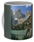 1m9387-v-grand Teton And Delta Lake - V Coffee Mug