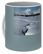 1m9304-grand Teton From Jackson Hole, Winter, H Coffee Mug