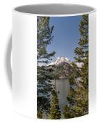 Grand Teton On Jenny Lake - Grand Teton National Park Wyoming Coffee Mug