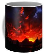 Grand Teton Sunset Coffee Mug
