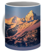 Grand Tetons In Winter Coffee Mug