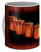 Grandma's Kitchen-copper Canister Set Coffee Mug