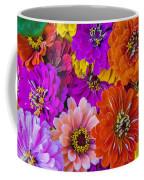 Grandma's Zinnias Coffee Mug