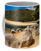 Granite Boulders In Abel Tasman Np New Zealand Coffee Mug
