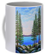 Granite Boulders Lake Tahoe Coffee Mug