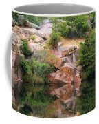 Granite Quarry And Reflections In The Missouri Ozarks Coffee Mug