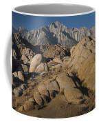 Granite Rock Formations, Alabama Hills Coffee Mug