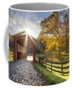 Granny Squirrel Bridge Coffee Mug by Debra and Dave Vanderlaan