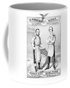 Grant And Wilson 1872 Election Poster  Coffee Mug