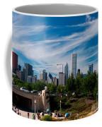 Grant Park Chicago Skyline Panoramic Coffee Mug