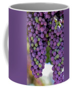 Grape Bunches Portrait Coffee Mug