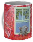 Grapes At The Window Coffee Mug