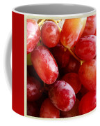 Grapes Coffee Mug by Les Cunliffe