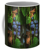 Grapes On The Vine - Gently Cross Your Eyes And Focus On The Middle Image Coffee Mug